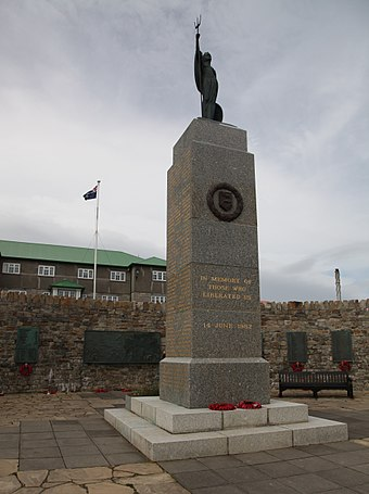 The 1982 Liberation Memorial in Stanley 1982 Liberation Memorial in Stanley (5612271774).jpg