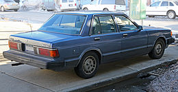 1983 Datsun Maxima, right rear.jpg
