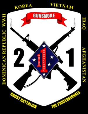 2nd Battalion, 1st Marines - 2nd Battalion, 1st Marines insignia