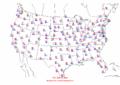 2002-09-26 Max-min Temperature Map NOAA.png