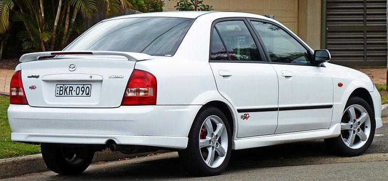 Mazda 323 Sedan. File:2002-2003 Mazda 323 (BJ