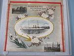 2002-82-4 Souvenir, Banner, Cruise, Japan, 1909 (8519685930).jpg