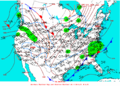 2003-01-30 Surface Weather Map NOAA.png