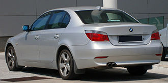 BMW 5 Series (E60) - Sedan (pre-facelift)