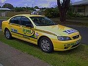 2005-2006 Ford Falcon (BF) XT sedan, Geelong Taxi Network (2008-12-14)