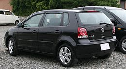 2005-2009 Volkswagen Polo rear.jpg