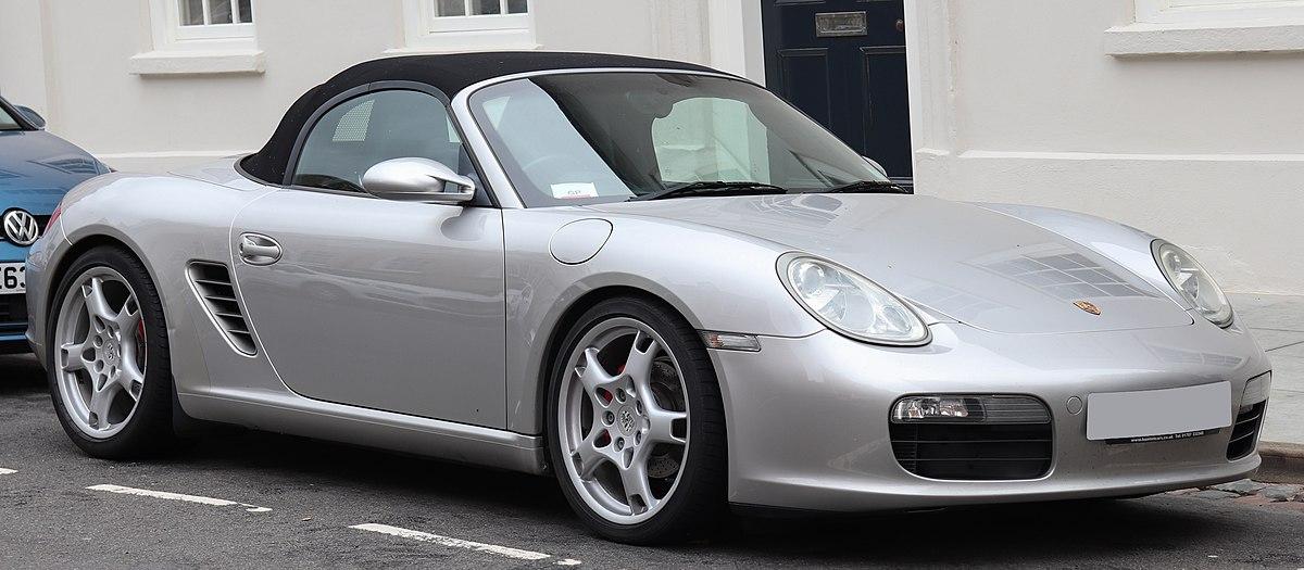 2006 Porsche Boxster >> Porsche 987 - Wikipedia