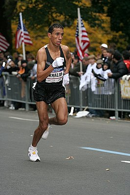 Tijdens New York City Marathon 2007