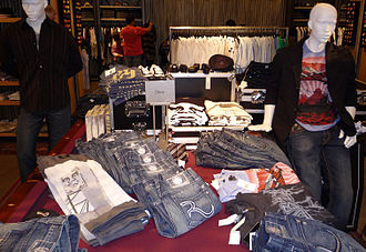 Shepard Fairey - OBEY Giant clothing, 2008 Nordstrom department store