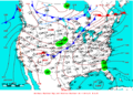 2009-05-21 Surface Weather Map NOAA.png