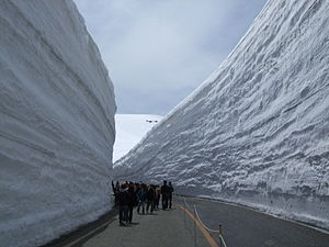 "Tateyama Kurobe Alpine Route - ""Snow Walls"""