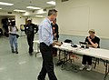 20110913-governor votes and has lunch with mayor rawlings blake-jb (6165636075).jpg