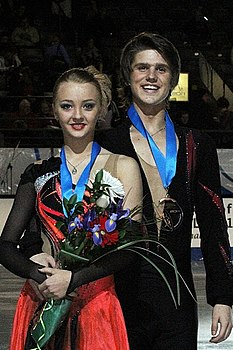 2011 Grand Prix Final Juniors Alexandra Stepanova Ivan Bukin.jpg