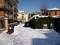 2012-02-04 Snowball fight amongst children in Rome.jpg