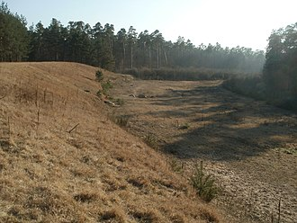 Hockenheimring - The remains of the Ostkurve in early 2012