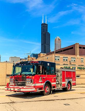Spartan Motors - Chicago Fire Department Academy engine - 2012 Spartan Gladiator