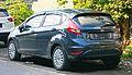 2013 Ford Fiesta 1.4L Trend in Kuta, Bali, Indonesia (02).jpg