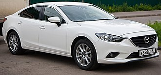 Mazda Motor Indonesia - Image: 2013 Mazda 6 (GJ) 2.0 Active sedan