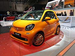 Mercedes Smart Car >> Smart Fortwo Wikipedia