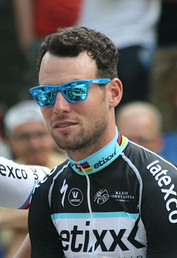 2015 Tour de France team presentation, Mark Cavendish.jpg