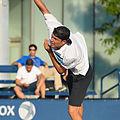 2015 US Open Tennis - Qualies - Jose Hernandez-Fernandez (DOM) def. Jonathan Eysseric (FRA) (20344705423).jpg