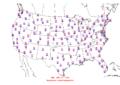 2016-04-20 Max-min Temperature Map NOAA.png