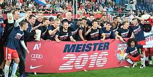 2015–16 Austrian Football Bundesliga - Red Bull Salzburg, Champion 2015/16