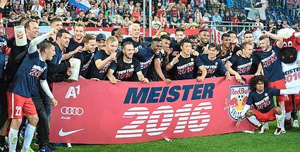 Red Bull Salzburg, Champion 2015/16