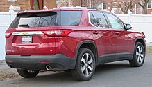 Pleasant Chevrolet Traverse Wikipedia Wiring 101 Capemaxxcnl