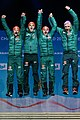 20190224 Medal Ceremony Men's Team HS130 Team Germany 850 3393.jpg