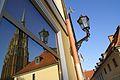 220 Odbicie katedry w oknie hotelu JP II foto B. Maliszewska.jpg