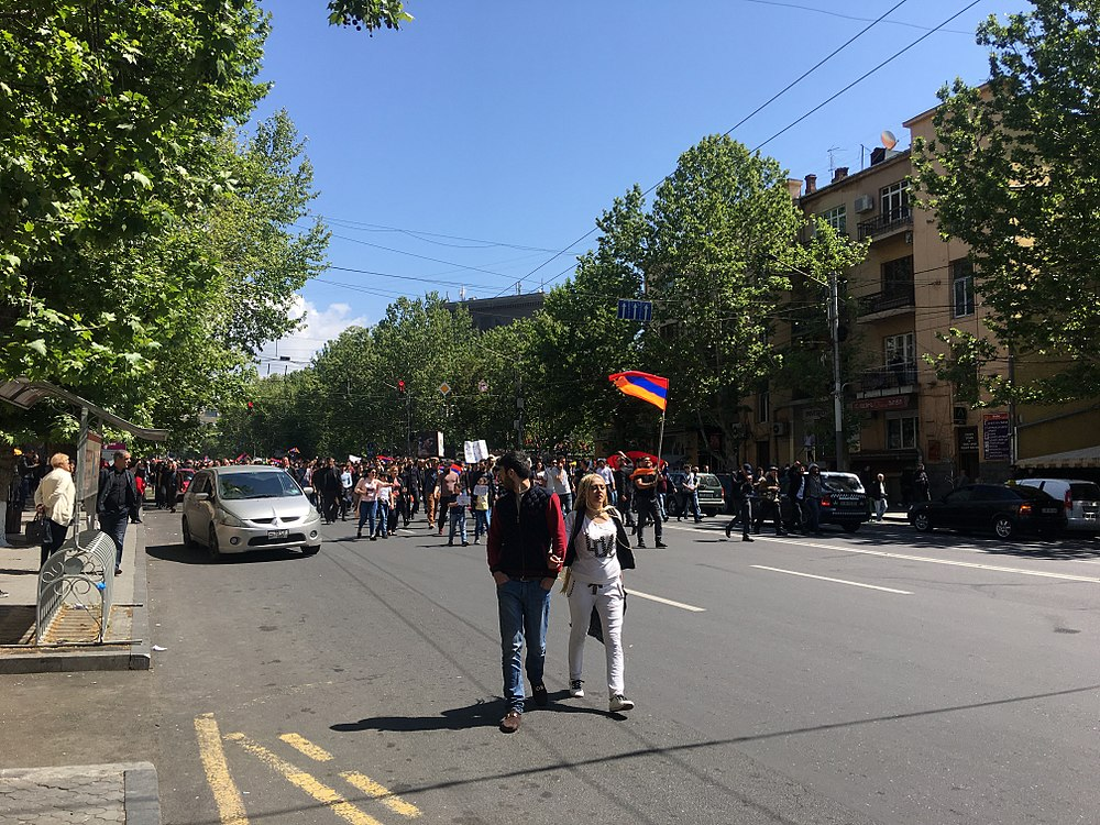 23.04.2018 Protest Demonstration, Yerevan 4.jpg