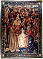 2308 - Milano - Museo d'arti applicate - Resurrezione di Lazzaro, arazzo fiammingo, ca. 1520 - Foto Giovanni Dall'Orto, 30 Oct. 2008.jpg