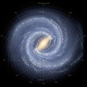 Star Trek: Excelsior - The Delta Quadrant at the top right, the setting of Star Trek: Excelsior.