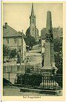 23829-Bad Berggießhübel-1927-Postmeilensäule, Kirche-Brück & Sohn Kunstverlag.jpg