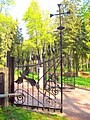 2397. St. Petersburg. Gate of the fence of the church Apostles Peter and Paul.jpg
