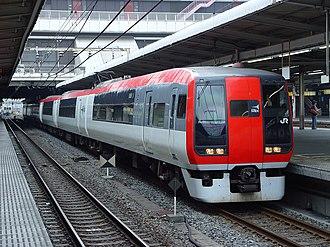 253 series - Six-car set Ne01 in June 2002