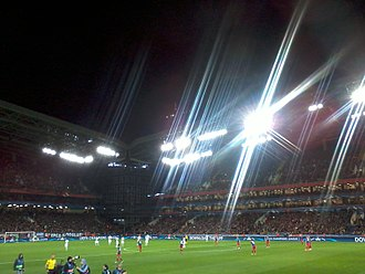 VEB Arena - VEB Arena during UCL match between CSKA Moscow and Manchester United