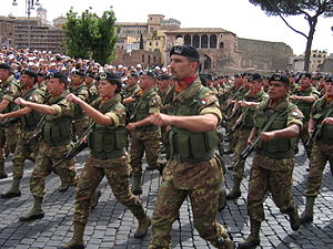 Lagunari - Lagunari at the military parade of June 2nd 2006 in Rome