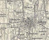 Katonai felmérés térképe