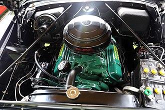 Oldsmobile V8 engine - 324 ci V8 (1954-1956)