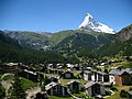 3803 - Winkelmatten - Matterhorn viewed from Gornergratbahn.JPG