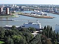 3X R'dam, bevoorradingsschip de Rotterdam en de SS - stad - panoramio.jpg