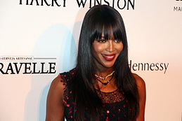 Naomi Campbell nel 2015
