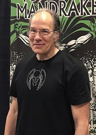 Tom Mandrake - Mandrake at the East Coast Comicon