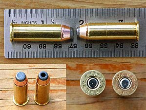 .44 Magnum - Image: 44 cartridge