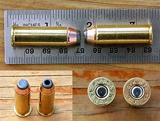 .44 Magnum cartridge
