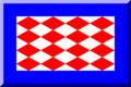 600px Blu con scacchi losangati Rossi e Bianchi.png