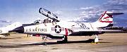 60th Fighter-Interceptor Squadron McDonnell F-101B 57-0364 1970