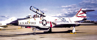 21st Air Division - Image: 60th Fighter Interceptor Squadron Mc Donnell F 101B 57 0364 1970